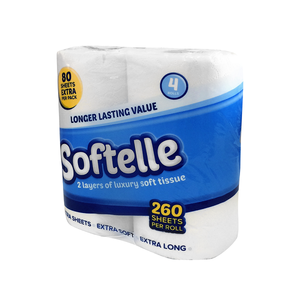 softelle luxury toilet roll