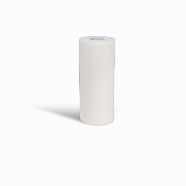 Paper Recycled Disposable Single Use Multipurpose Designed for lining couches and traditionally found in healthcare and beauty, these rolls can also be used for general wiping purposes in many industries. Our hygiene rolls offer an extra protection, hygiene and comfort solution that is durable and practical, ensuring vital infection control. Benefits Disposable product for easy and quick handling, increased hygiene and reduced risk of contamination Environmental Made and packaged in recycled and recyclable material 100% recycled paper 44mm solid core to allow compatibility with most dispensers Perforated sheets to allow single sheet dispensing and reduced wastage Specification Ply: 2 Colours: White, Blue Paper finish: Plain Roll length: 50 m Roll diameter: 110 mm Roll width: 240mm Sheet length: 390 mm