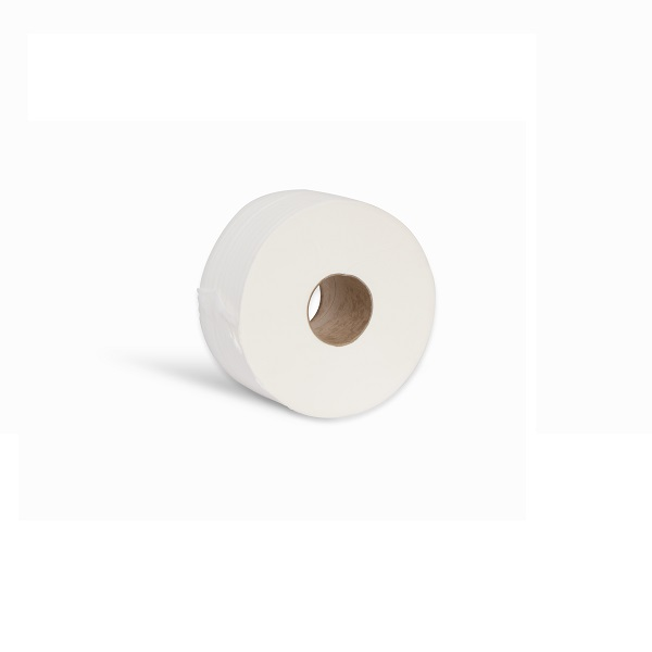Esfina 2ply White 100% Virgin Mini Jumbo Toilet Roll