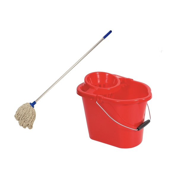 Mop, Handle & Bucket