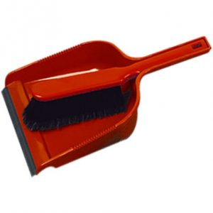 Red dustpan & Brush set